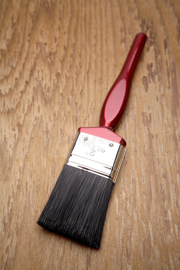 Download Pennello immagine stock. Immagine di vernice, decorazione - 3879783
