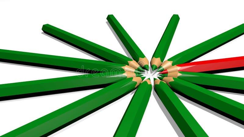 pennen stock illustratie