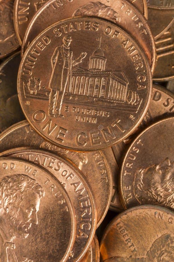 pennies stockfotografie