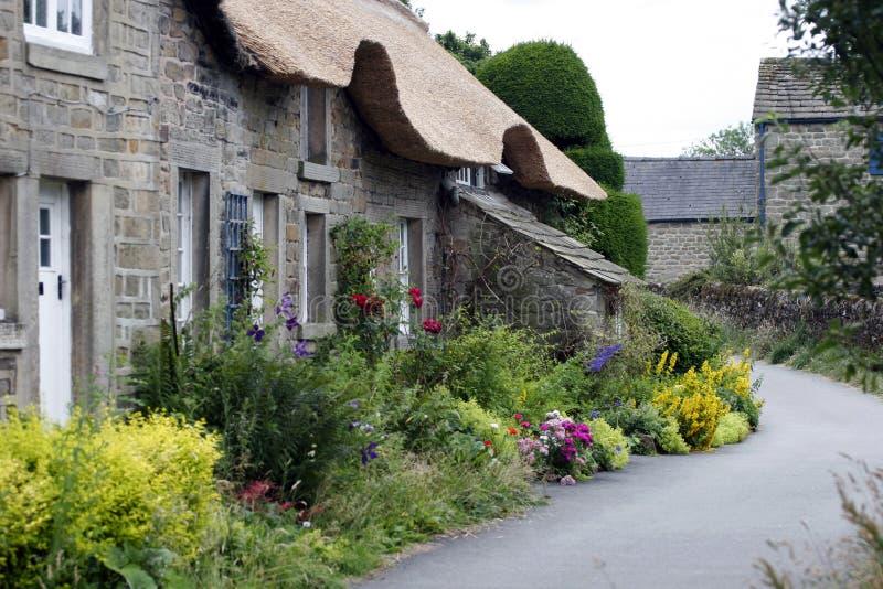 Pennine Cottage stock photo
