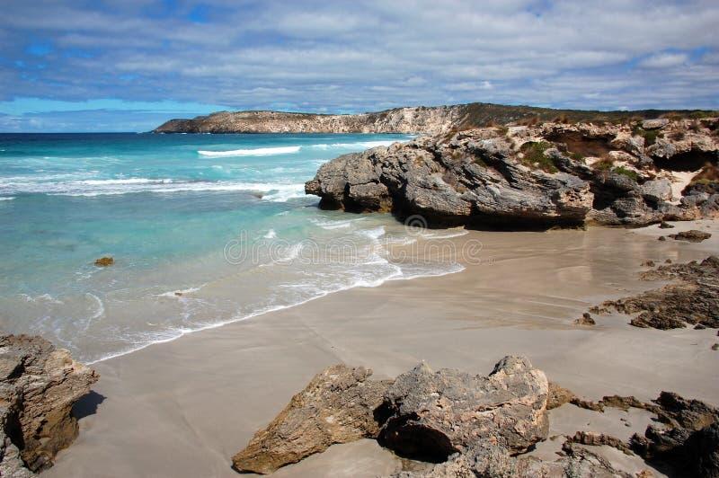 Pennington zatoka, kangur wyspa, Południowy Australia. obraz stock