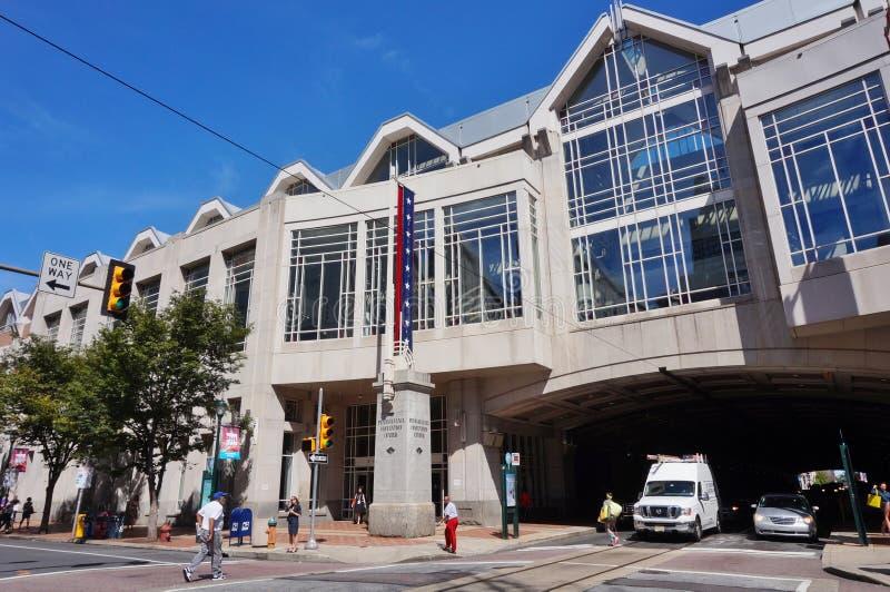 Pennsylvania Convention Center in Philadelphia royalty-vrije stock foto's