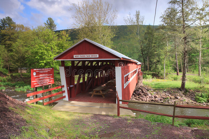 Pennsylvania Covered Bridge royalty free stock photo