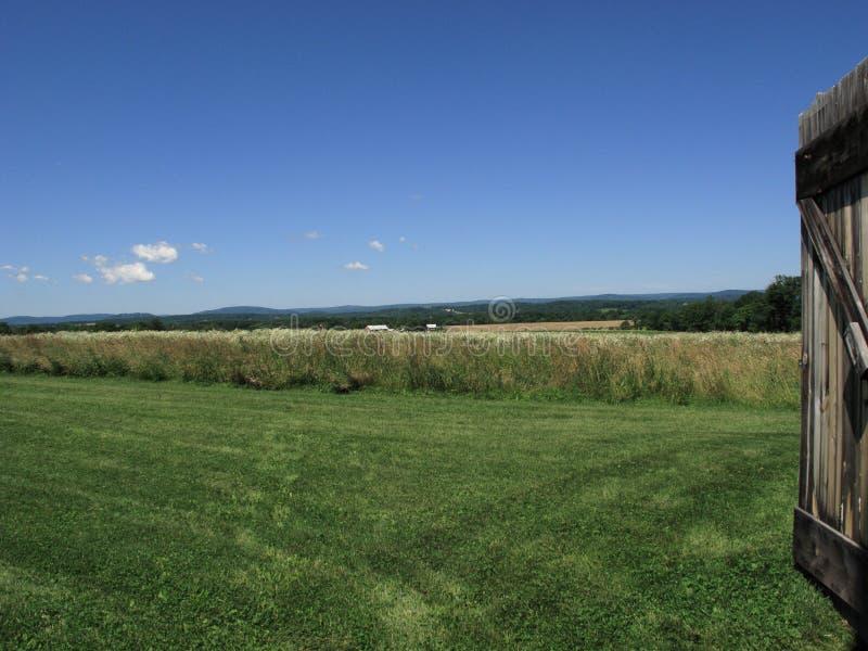 Pennsylvania Field and Barn Door