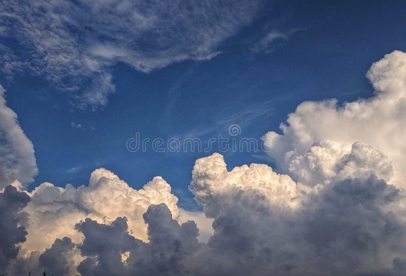 Pennsylvania-Sommer-Himmel lizenzfreies stockbild