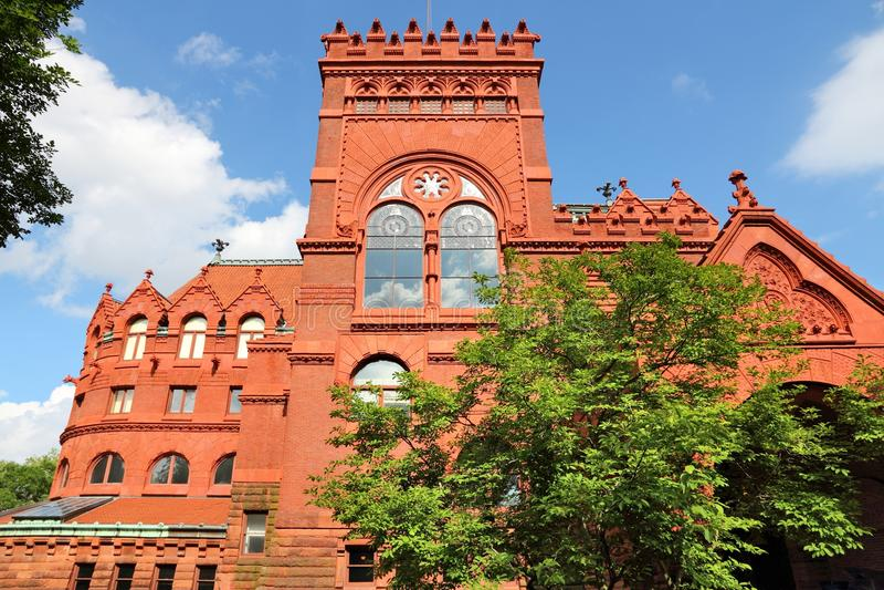 Pennsylvania State University. Philadelphia USA - Pennsylvania State University (Penn State). Fisher Fine Arts Library building stock images