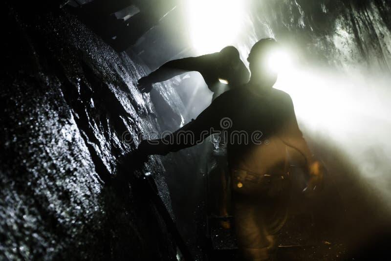 Coal mine royalty free stock photo