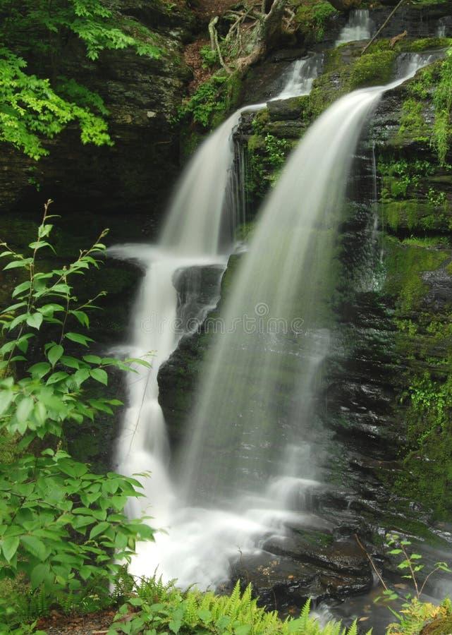 pennsylvania vattenfall fotografering för bildbyråer