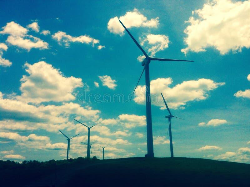 Pennsylvania wind stock photo