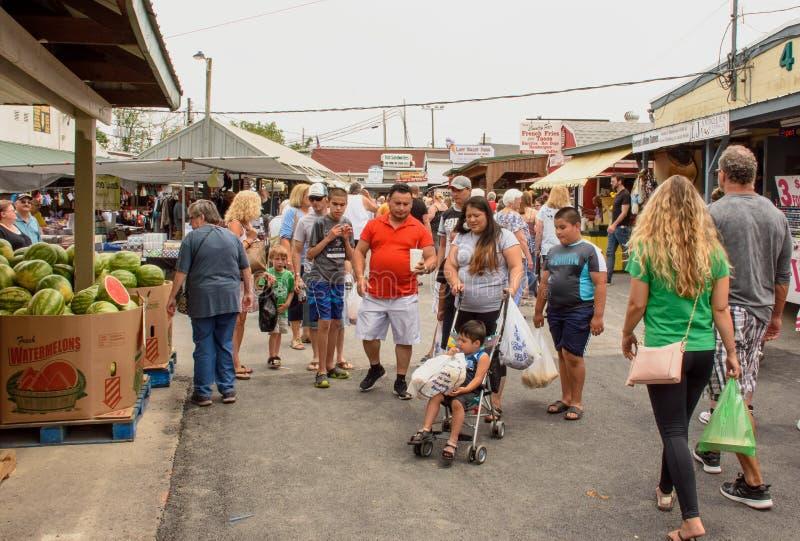 Pennsylwania holendera kraj Zielonego smoka rynek zdjęcie royalty free