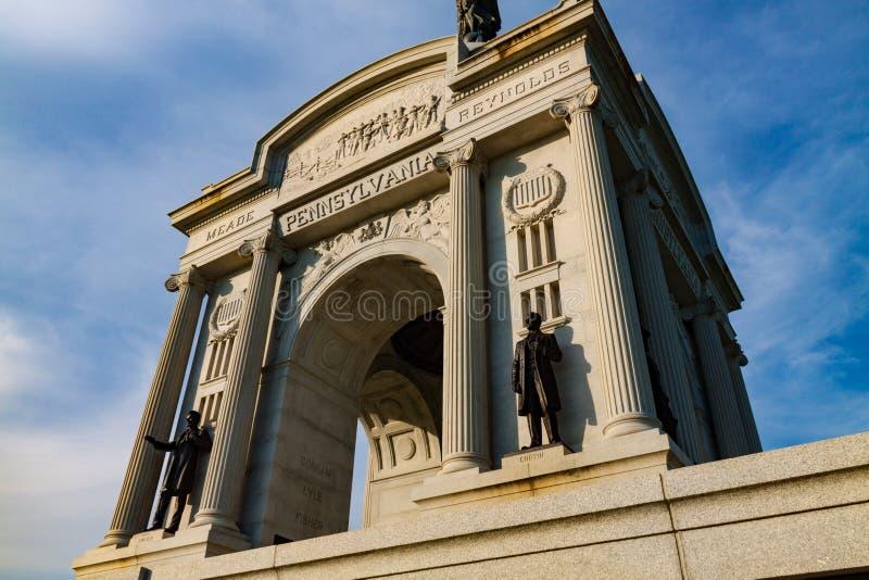 Pennsylwania stanu pomnika zakończenie Up obrazy stock