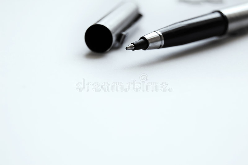 pennwriting arkivfoto