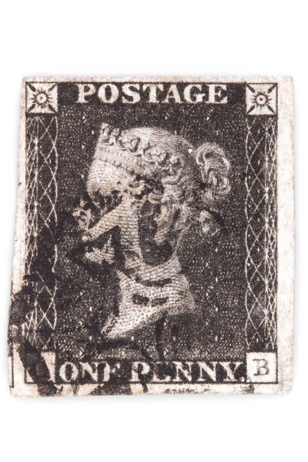 Penny Black fotos de stock