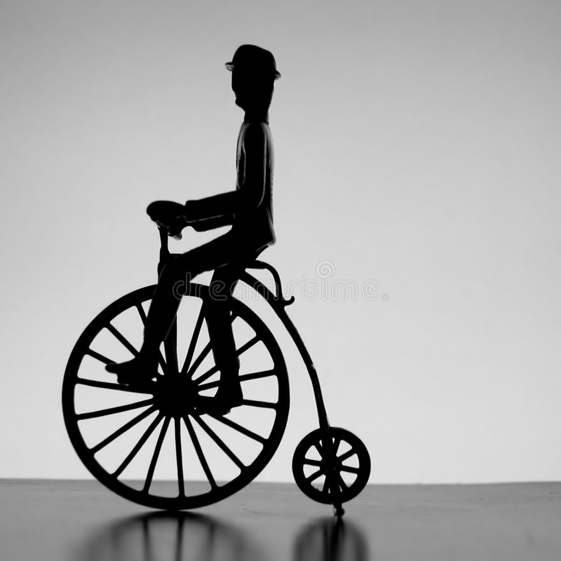 Penny farthing royalty free stock photography