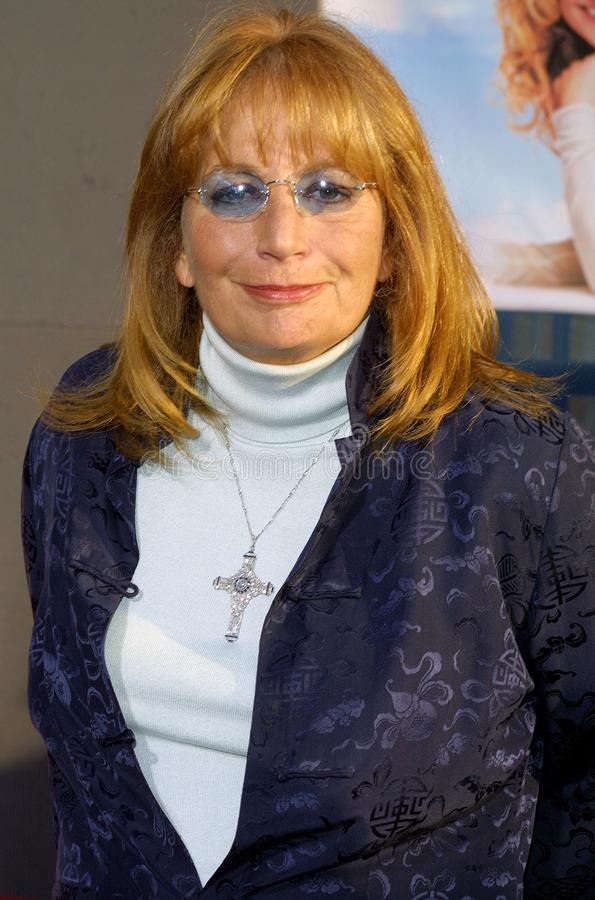 Penny Marshall. At the Los Angeles premiere of `Raising Helen` held at the El Capitan Theatre in Hollywood, USA on May 26, 2004 stock photography