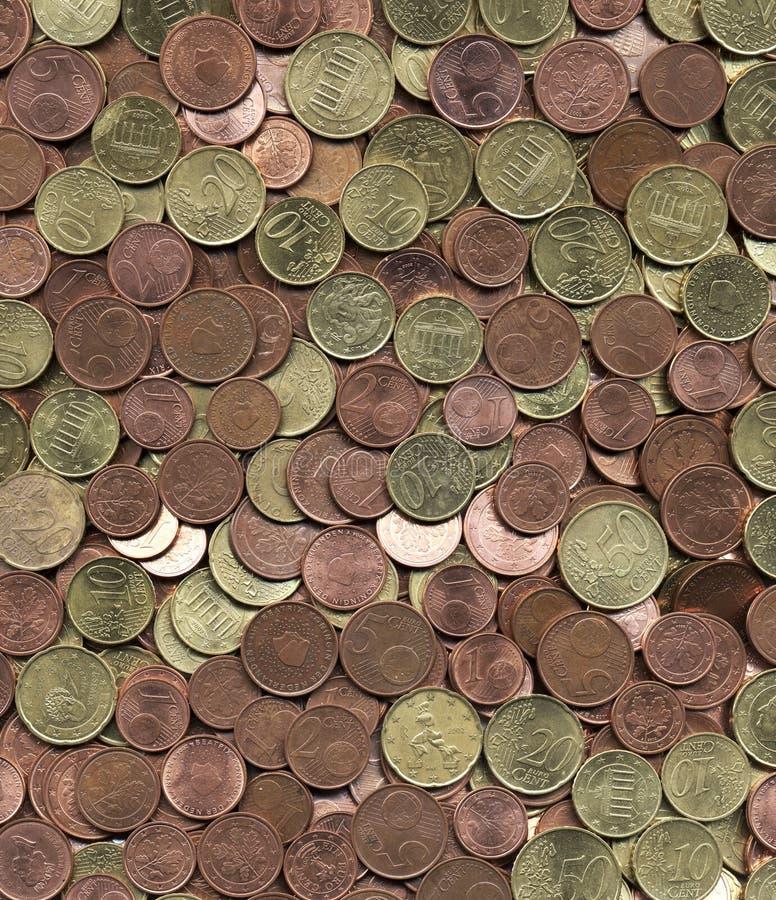 penny monety euro europejskim ilustracji