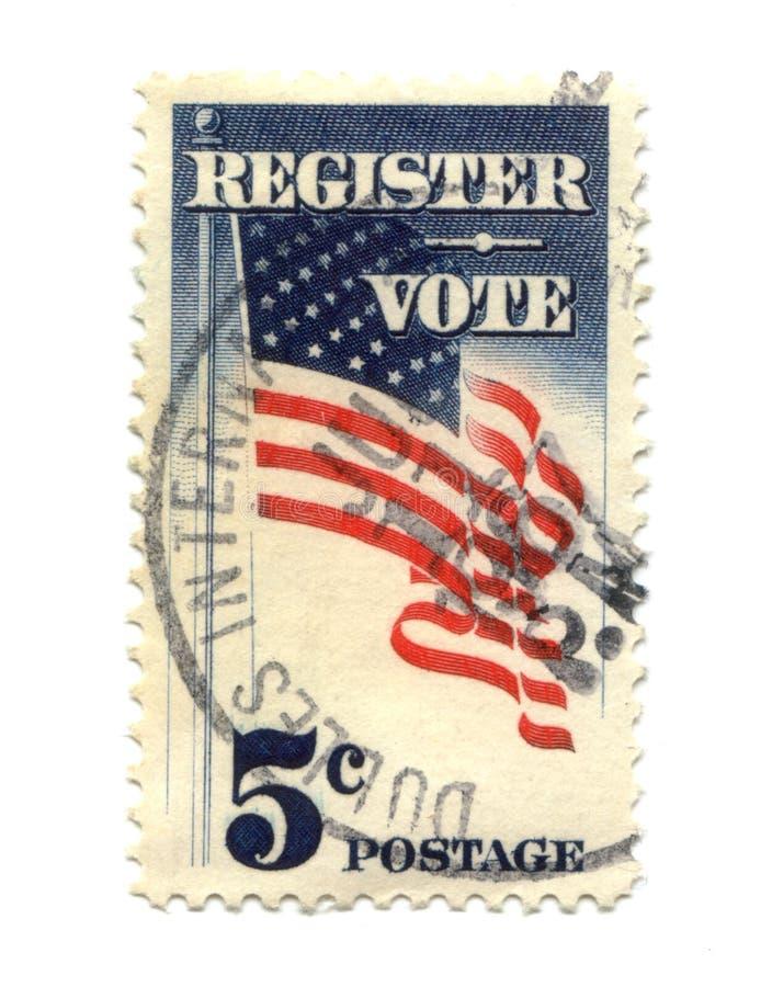 penny pięć starego znaczka pocztowego usa zdjęcie royalty free