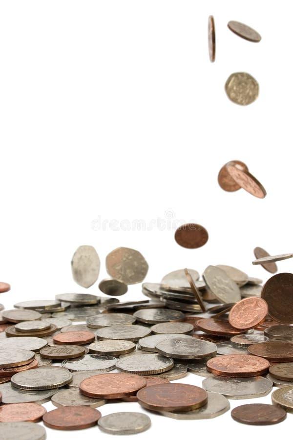 Pennys vom Himmel lizenzfreie stockbilder