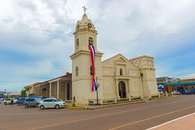 Penonome, Παναμάς, η εκκλησία Aguadulce, iglesia Λα στοκ φωτογραφία