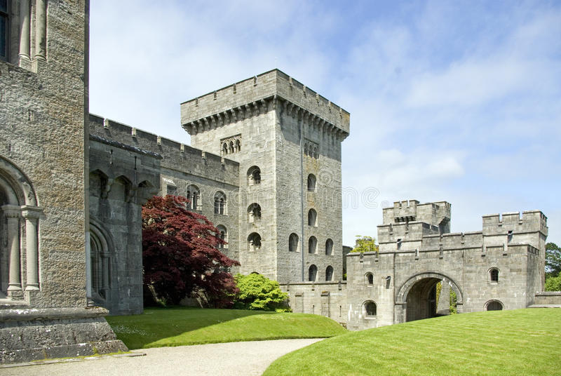 Download Penrhyn Castle stock image. Image of fortificacations - 9579137