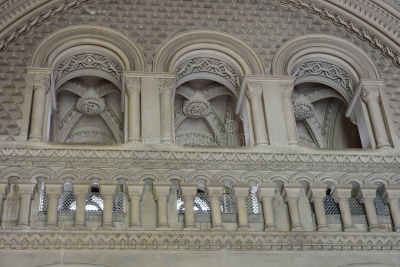 Penrhyn slott royaltyfria foton