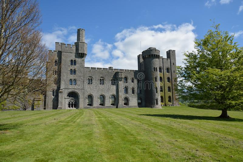 Penrhyn slott royaltyfri fotografi