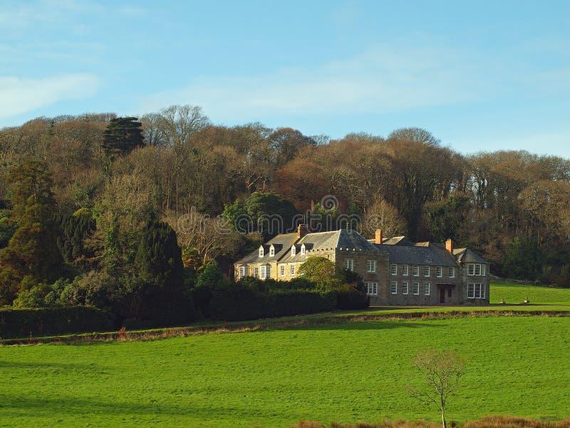 Penrose gods Cornwall arkivfoton