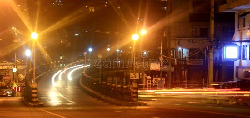 Pensão da vila de Baguio, cidade de Baguio imagem de stock royalty free