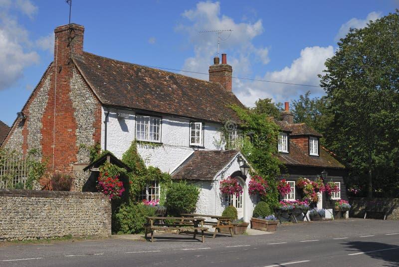 A pensão de George em Eartham. Sussex ocidental. Inglaterra fotos de stock royalty free