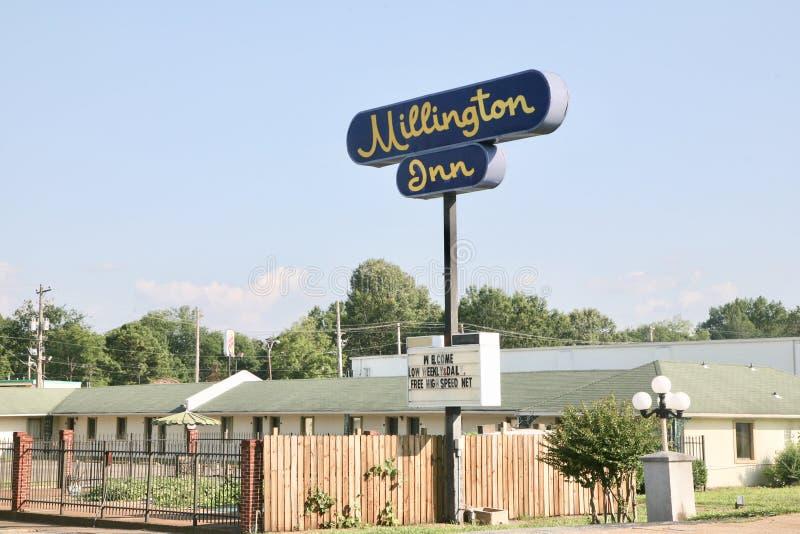 Pensão de Millington, Millington TN fotografia de stock
