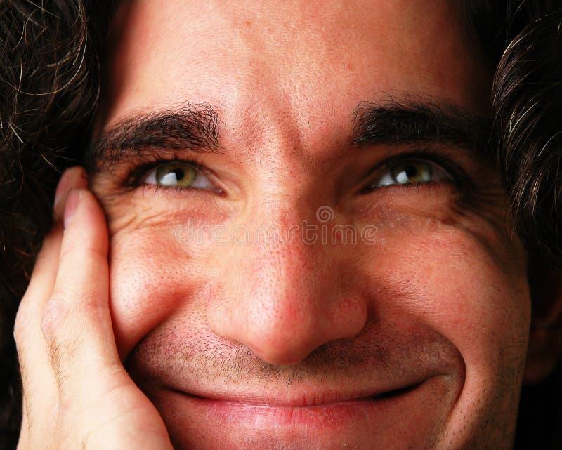 Pensées heureuses photo libre de droits