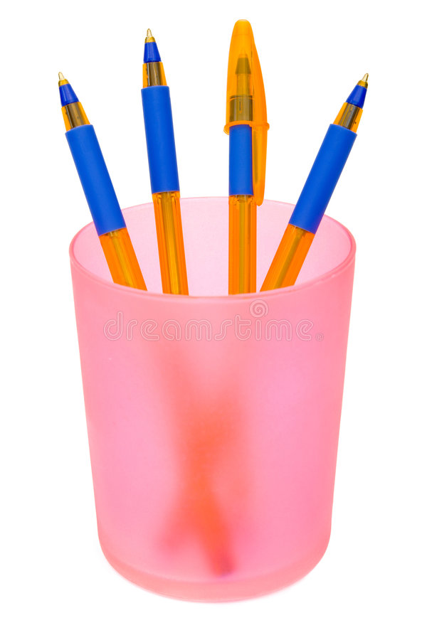 Free Pens In Container Royalty Free Stock Images - 3429899
