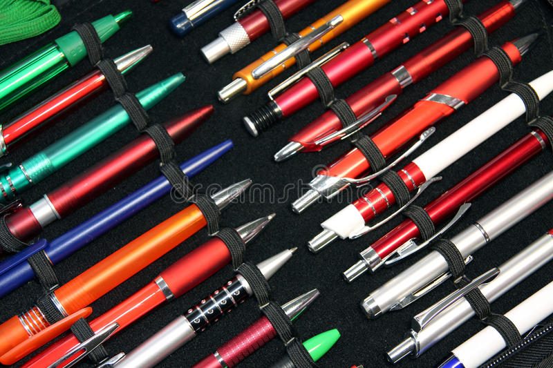 Download A Pens Set stock image. Image of business, supplies, group - 33515845