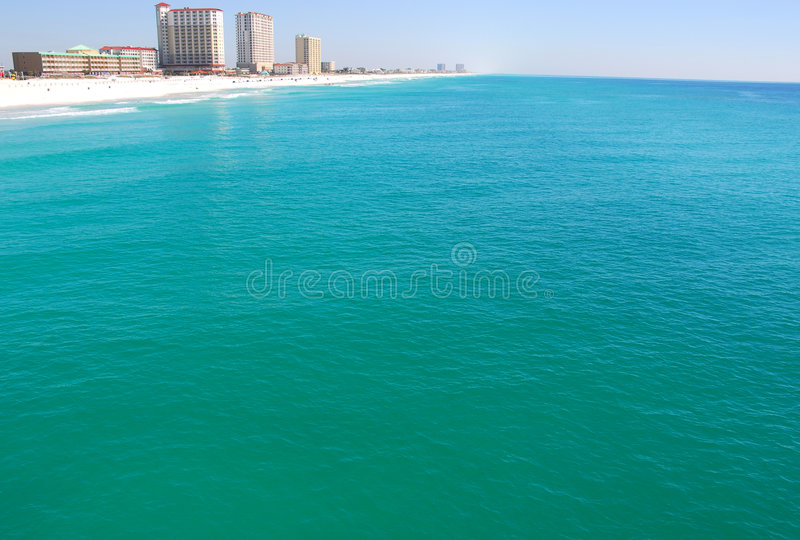 Pensacola-Strand lizenzfreie stockfotografie