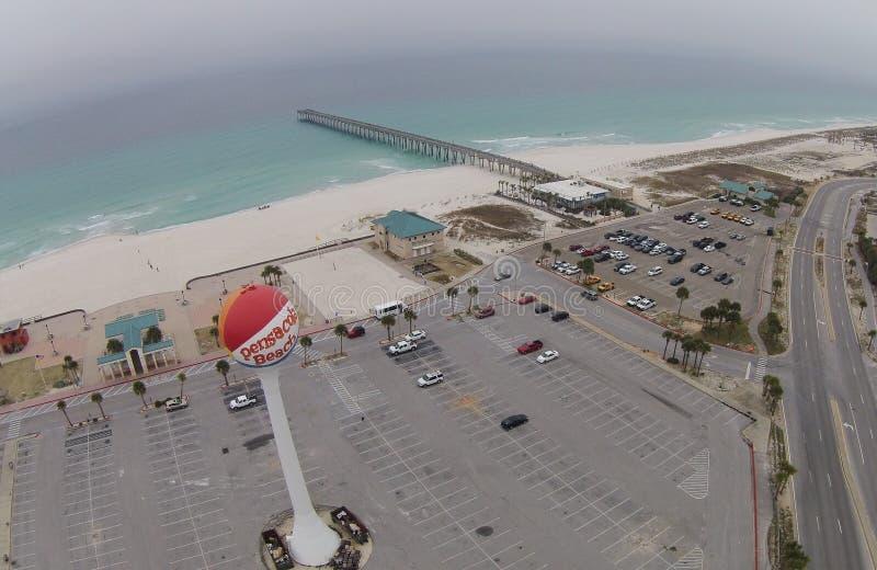 Pensacola-Strand stockbild