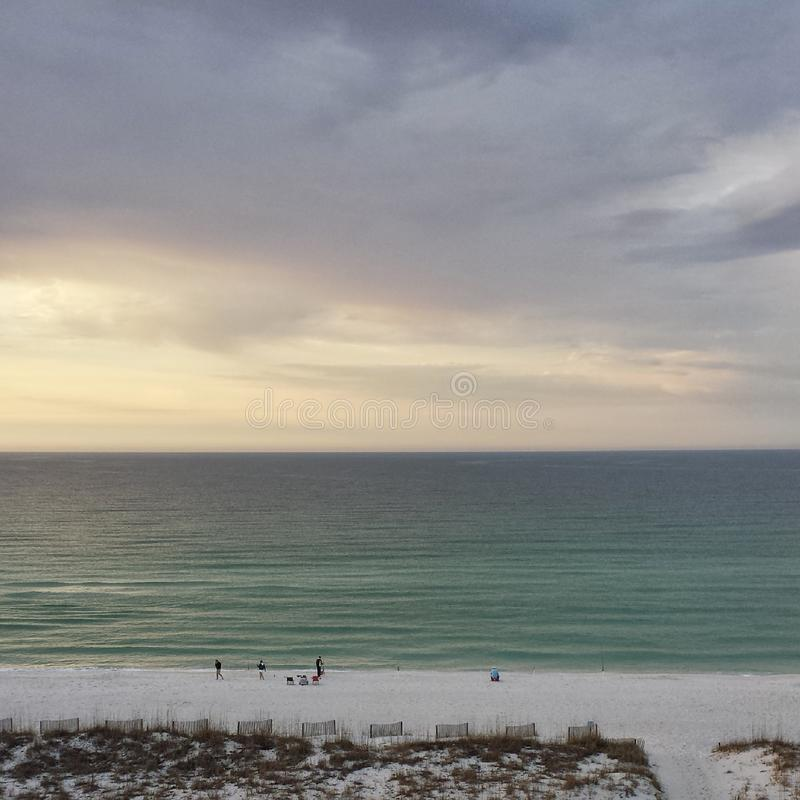 Pensacola strand royaltyfri bild