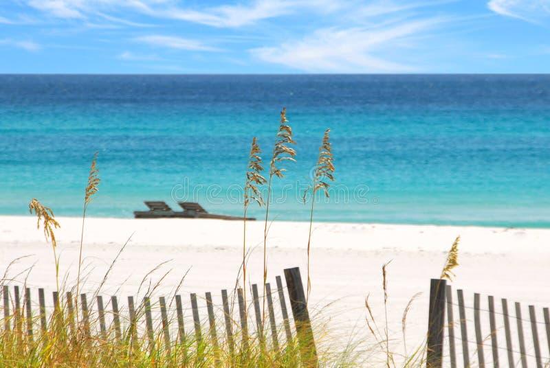 Pensacola-Strand, Florida stockbilder