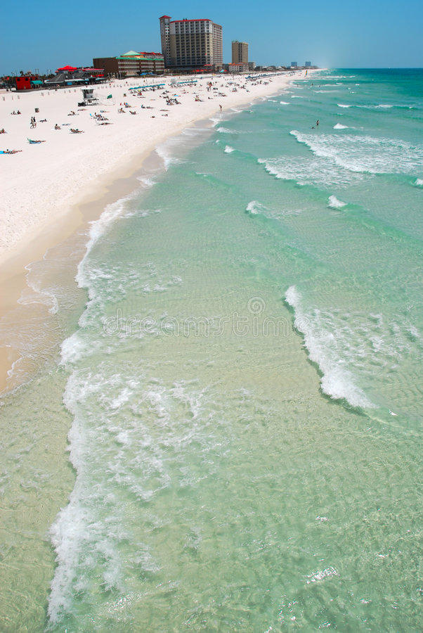 Pensacola-Strand, Florida stockbild