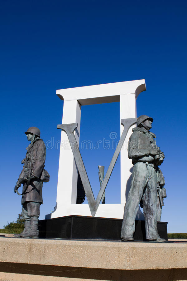 Pensacola WWII pomnik zdjęcie royalty free