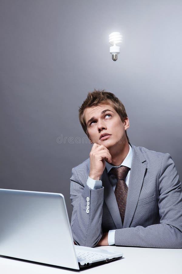 Pensamento fotografia de stock