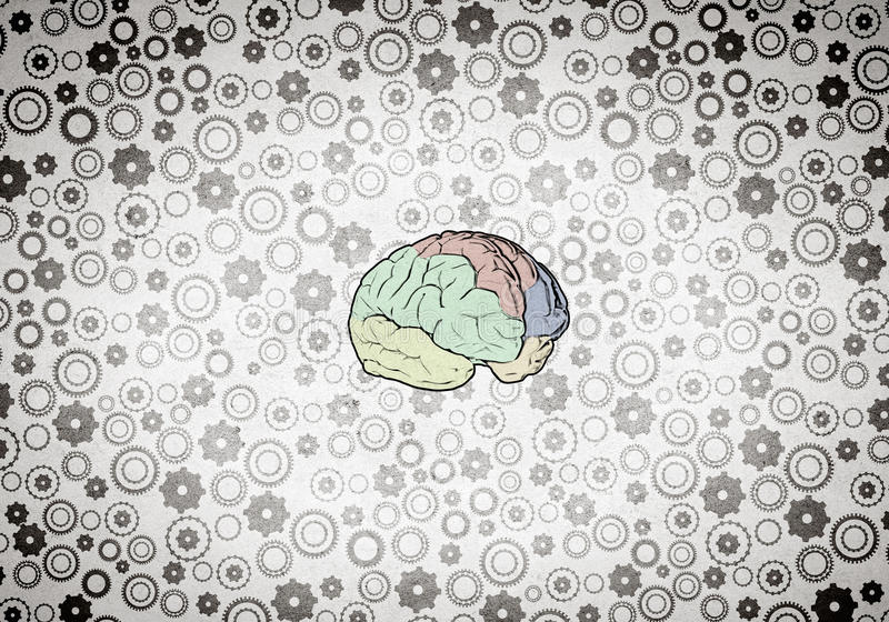 Pensamento creativo ilustração do vetor