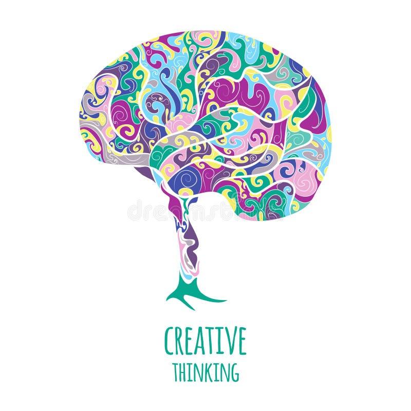 Pensamento creativo fotos de stock