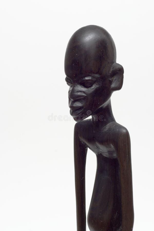 Pensamiento africano del hombre fotos de archivo