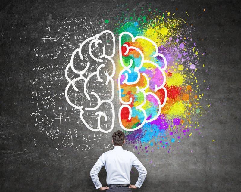 Pensamiento analítico y creativo libre illustration