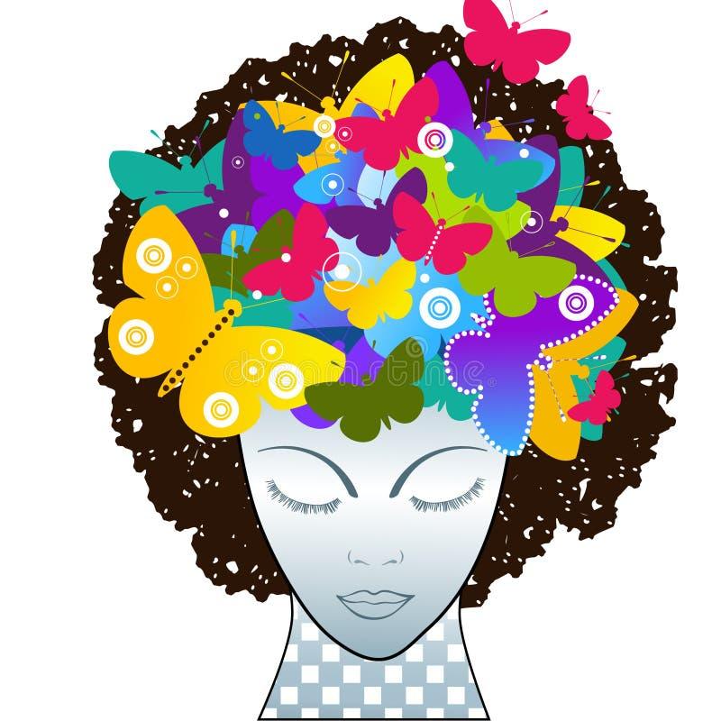 Pensamiento creativo stock de ilustración
