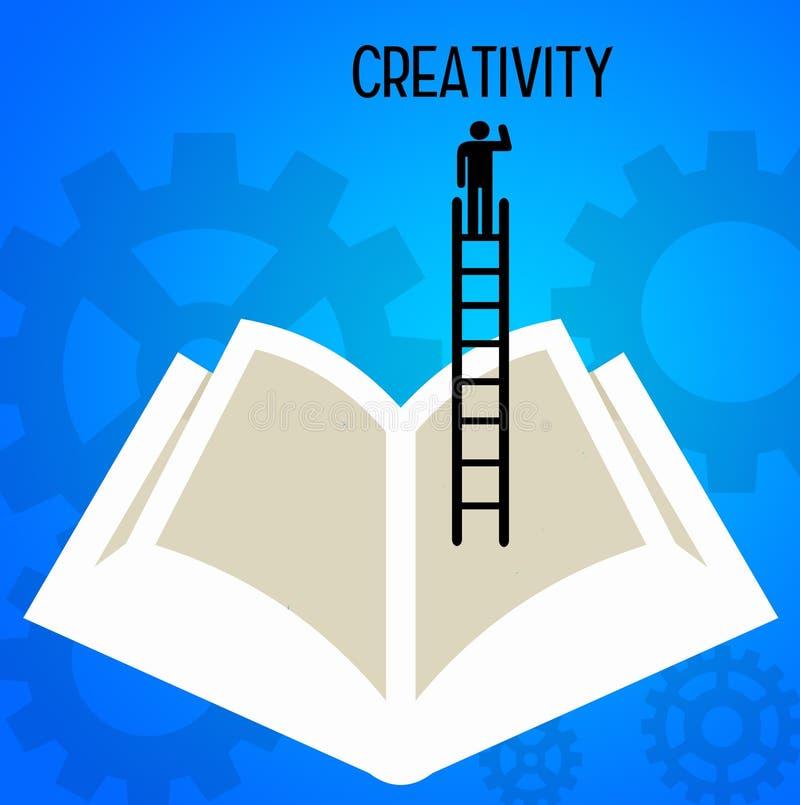 Penser créateur illustration stock