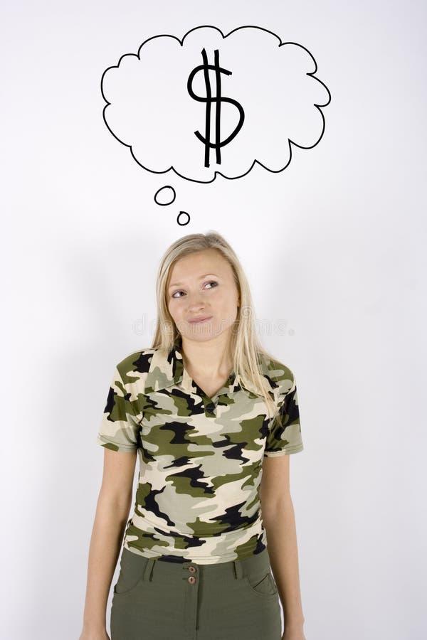 penser d'argent photo libre de droits