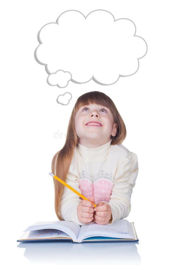 Penser d'enfant photographie stock libre de droits