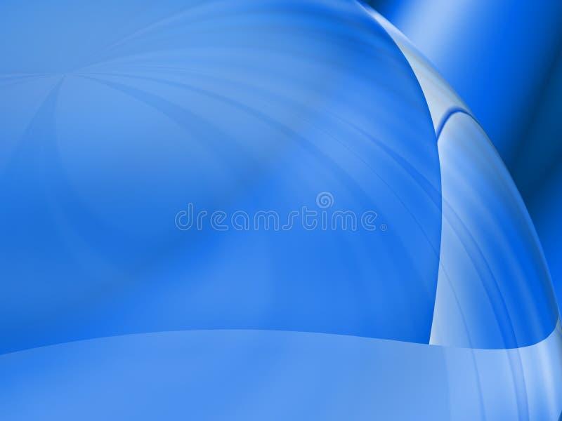 Pensez au bleu illustration libre de droits