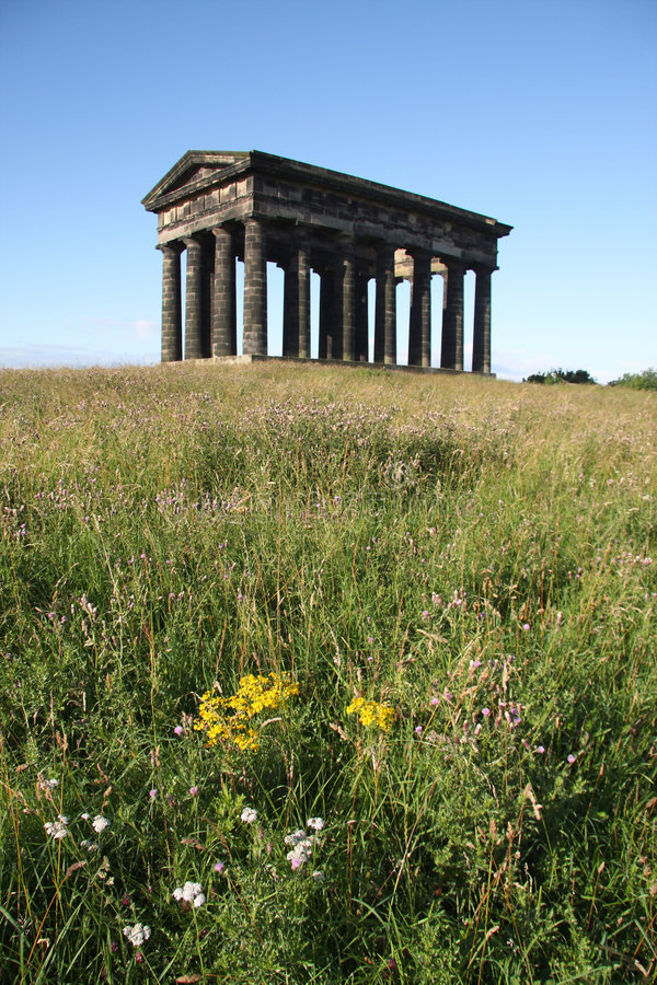Download Penshaw Hilltop stock image. Image of pillars, field, tyne - 6056291